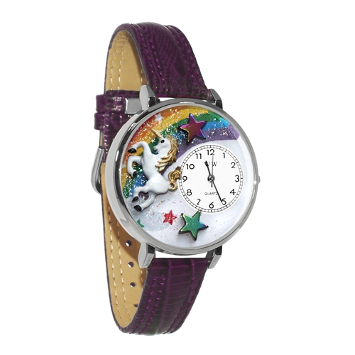Unicorn Watch in Silver (Large)