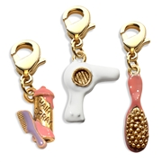 Beautician Charm Bundle in Gold