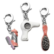 Beautician Charm Bundle in Silver