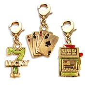 Casino Charm Bundle in Gold