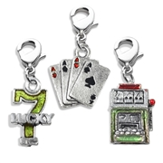 Casino Charm Bundle in Silver
