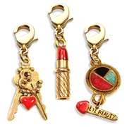 Teen Girl Charm Bundle in Gold
