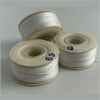 White G Bobbins - High-Spec-1/2 Gross