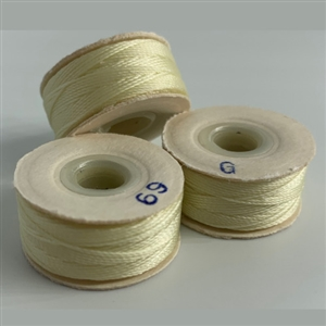 Natural G Bobbins - High-Spec-1/2 Gross