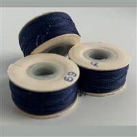 Navy G Bobbins - High-Spec-1/2 Gross