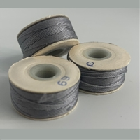 Charcoal G Bobbins - High-Spec-1/2 Gross