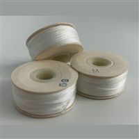 White M Bobbins - High-Spec-1/2 Gross