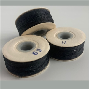 "Black ""M"" Bobbins - High-Spec-1/2 Gross"