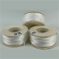 White G Bobbins-Sunguard-1/2 Gross