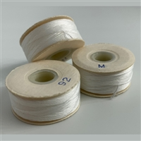 White M Bobbins -Sunguard -1/2 Gross