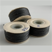 Charcoal M Bobbins -Sunguard -1/2 Gross