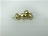 "1054 Brass Plated 5/8"" Decorative Nails"