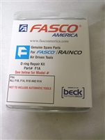 Fasco/Rainco 700402F O-Ring Kit F1A/R1A, F1B/R1B