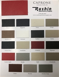 Rushin Leather Collection Card