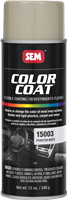 SEM Color Coat Aerosol 15003 Phantom White