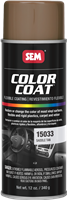 SEM Color Coat Aerosol 15033 Saddle Tan