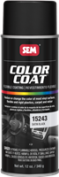 SEM Color Coat Aerosol 15243 Satin Black