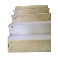 Foam Slab: 3X30X82 Firm