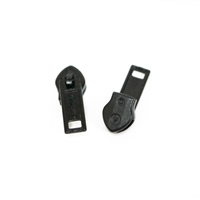 #4.5 Coil Zipper Single Pull Slides Black