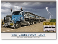 The Cannington Icon - Standard Postcard  AOB-060