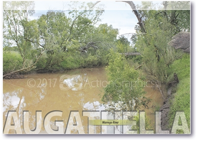 Warrego River - Standard Postcard  AUG-001