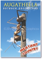 Meatant Country Augathella - Small Magnets  AUGM-001