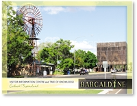Visitor Information Centre & Tree of Knowledge - Standard Postcard  BAR-008