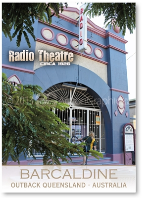 Radio Theatre - Standard Postcard  BAR-011