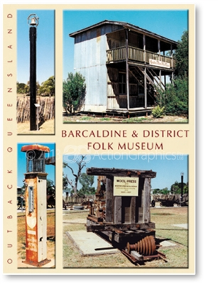 Barcaldine & District Folk Museum - DISCOUNTED Standard Postcard  BAR-225