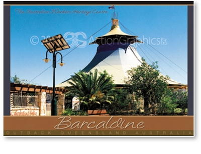 The Australian Workers Heritage Centre - DISCOUNTED Standard Postcard  BAR-231