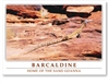 Home of The Sand Goanna - DISCOUNTED Standard Postcard  BAR-320