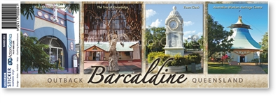 Barcaldine Outback Queensland - Bumper Sticker  BARBS-003