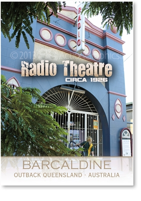 Radio Theatre - Small Magnets  BARM-001