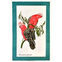 GALAH Cotton/Linen Tea Towel - BC404