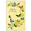 BUTTERFLIES OF AUSTRALIA Cotton/Linen Tea Towel - C731
