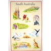 SOUTH AUSTRALIA Cotton/Linen Tea Towel - C739