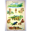 TASMANIA Cotton/Linen Tea Towel - C744