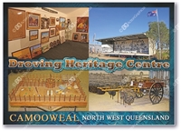 Drovers Camp Memorabilia Shed & Art Gallery - Standard Postcard  CAM-001