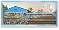 Camooweal North West Queensland  - Panoramic Postcard  CAM-002-PP