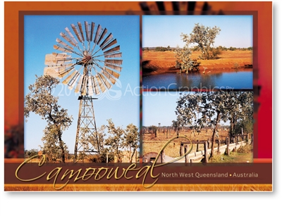 Camooweal North West Queensland - DISCOUNTED Standard Postcard  CAM-147