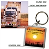 Roadtrain - 40mm x 40mm Keyring  CAMK-002