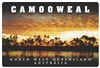Sunset in Camooweal - Rectangular Sticker CAMS-001