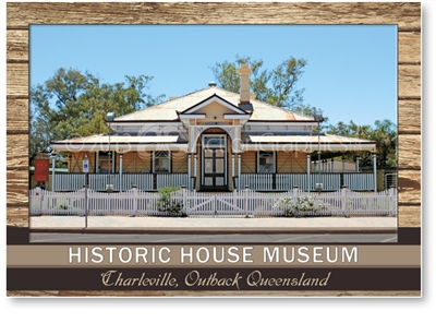 Historic House Museum - Standard Postcard  CHA-003