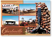 Royal Flying Doctor Service - DISCOUNTED Standard Postcard  CHA-262