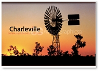 Charleville Windmill - DISCOUNTED Standard Postcard  CHA-419