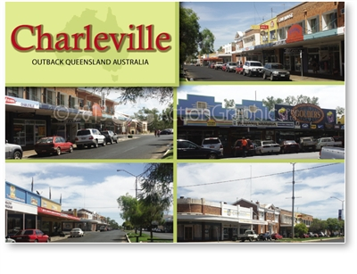 Charleville Outback Queensland Australia - DISCOUNTED Standard Postcard  CHA-448