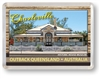 Historic House Museum - Framed Magnet  CHAFM-001
