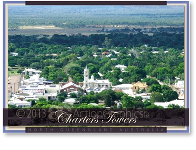 Charters Towers - DISCOUNTED Standard Postcard  CHT-371