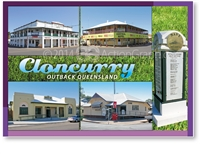 Cloncurry, Outback Queensland - Standard Postcard  CLO-003