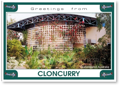 Cloncurry Queensland Australia - DISCOUNTED Standard Postcard  CLO-087